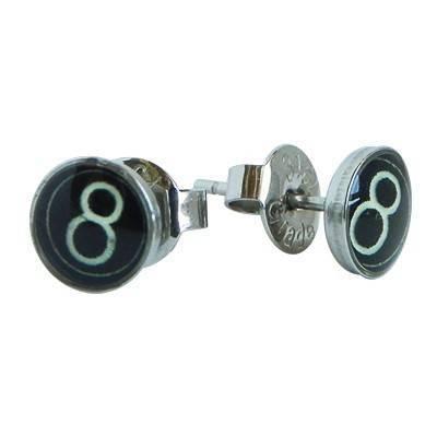 boucle d'oreille homme acier chirurgical. Vendue à l'unité. BB380-6