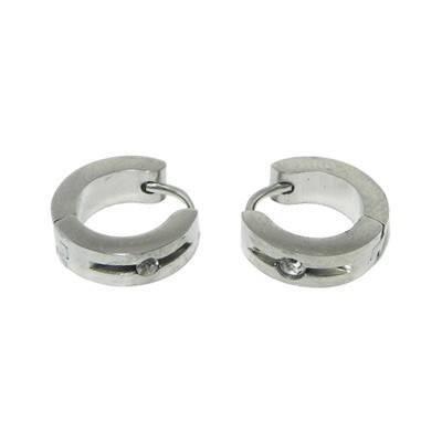 anneau en acier homme, BB378-16