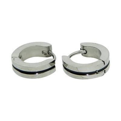 anneau en acier homme, BB378-25