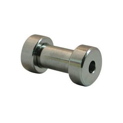 Dilatación 3mm de acero quirúrgico, color acero con rosca