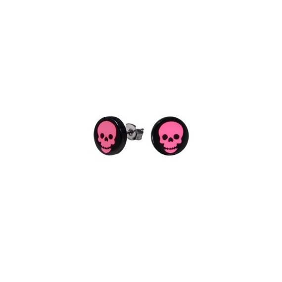 boucle d'oreille homme acier chirurgical. Vendue à l'unité. BB380-31