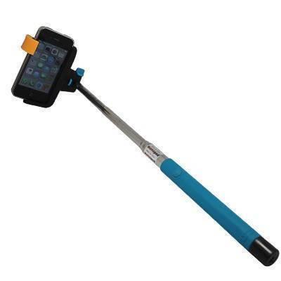 Palo Selfie azul, extensible con bluetooth, Selfie04