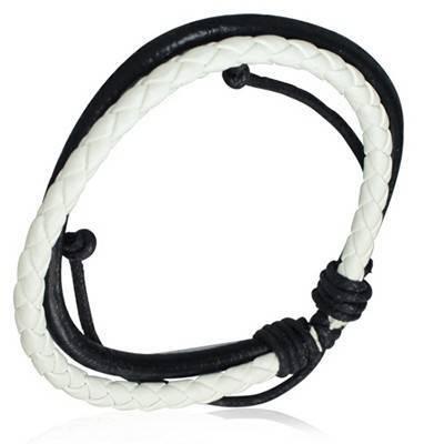 Bracelet en cuir reglable. BBR01
