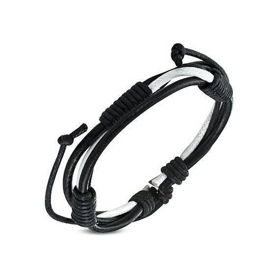 Bracelet en cuir reglable. BBR05