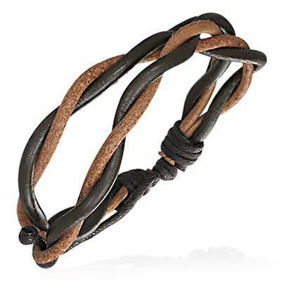 Bracelet en cuir reglable. BBR06
