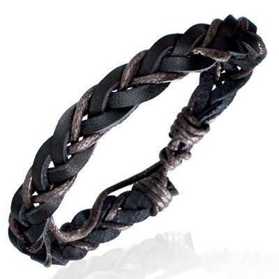 Bracelet en cuir reglable. BBR13