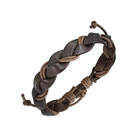 Bracelet en cuir reglable. BBR16