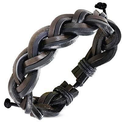 Bracelet en cuir reglable. BBR18