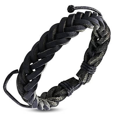 Bracelet en cuir reglable. BBR19