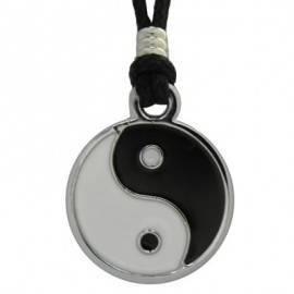 Colgante yin yang con cordón regulable para chicas. FCL3