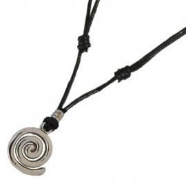 Colgante espiral con cordón regulable para chicas. FCL13