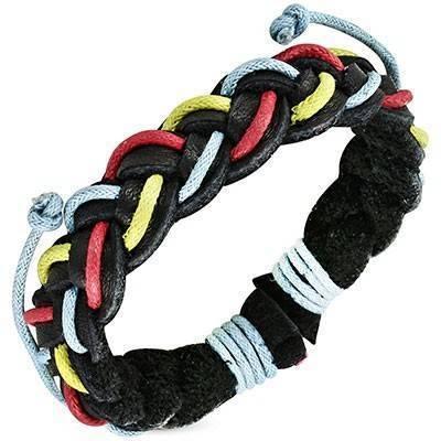 Bracelet en cuir reglable. BBR22