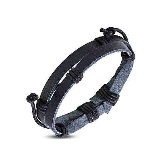 Bracelet en cuir reglable. BBR28