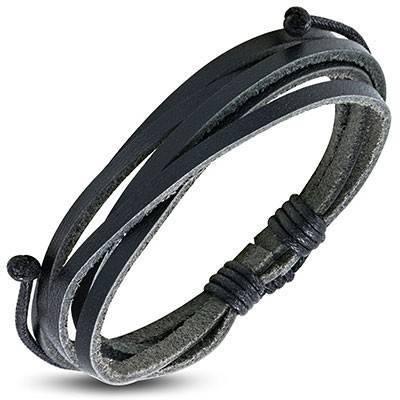 Bracelet en cuir reglable. BBR41