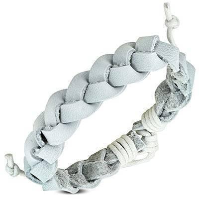 Bracelet en cuir reglable. BBR43