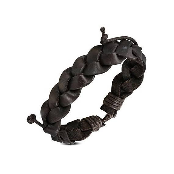 Bracelet en cuir reglable. BBR46