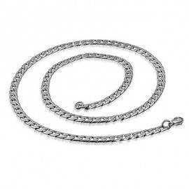 Cadena de acero qurúrgico, 56cm de largo, 4,5mm de ancho. CADC16