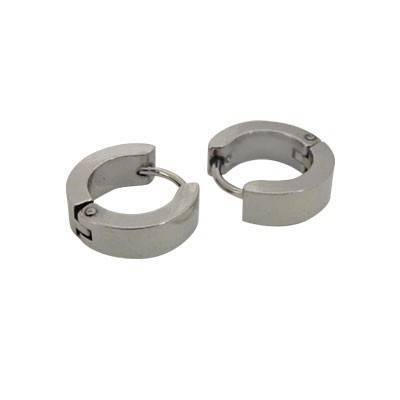 anneau en acier homme, BB378-12