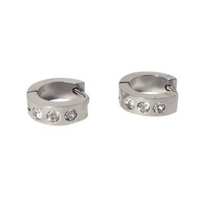 anneau en acier homme, BB378-5