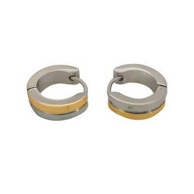 anneau en acier homme, BB378-2