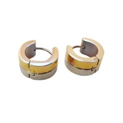 anneau en acier homme, BB378-1