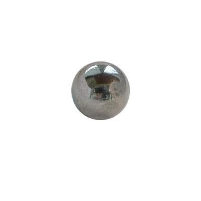 Bola suelta, barra con grosor 1,6mm, 5mm de diámetro, piercing pezón