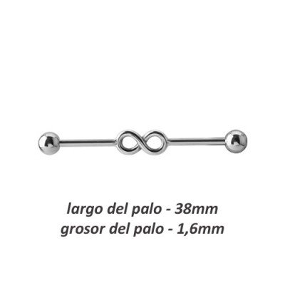 Piercing industrial infinito