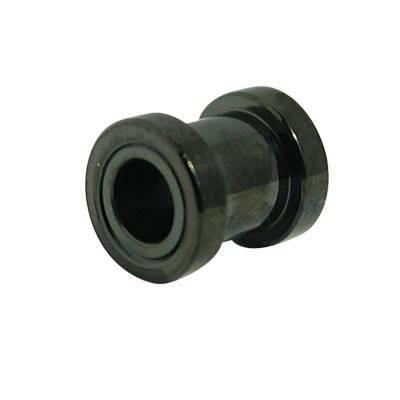 tunnel en acier chirurgical anodisé noir, 6mm. GX32-4