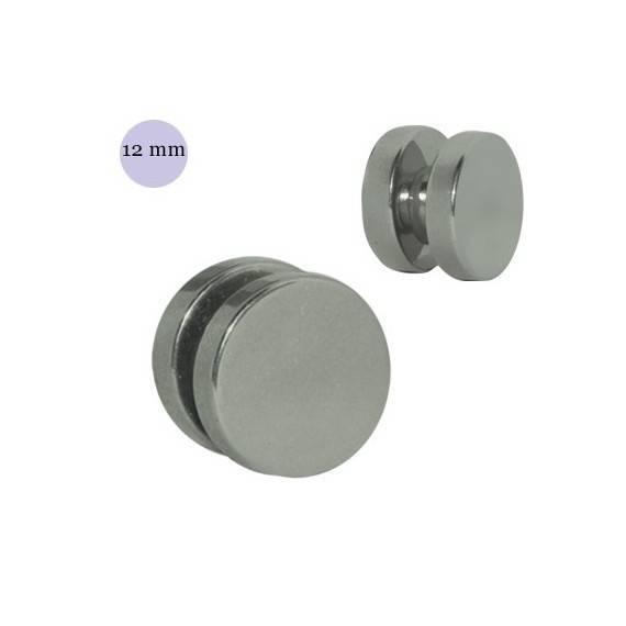 Dilatación falsa de imán, 12mm diámetro, acero quirúrgico