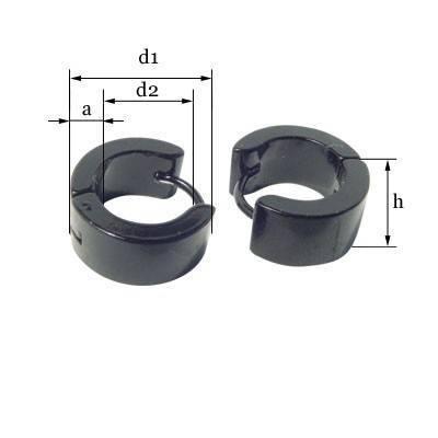 Dimentions du anneau en acier homme