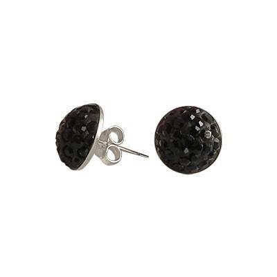 Men's earring silver 6mm, OR55-2