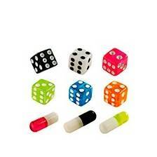 Navel and tongue dice and other themes