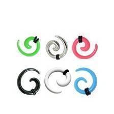 Dilatadores oreja tipo espiral