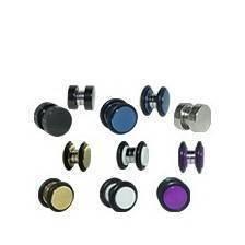 Magnetic fake plug earring